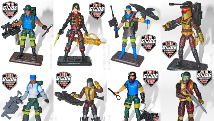 GURU PLANET G.I. JOE 2018 CONVENTION PREORDERS ARE UP!