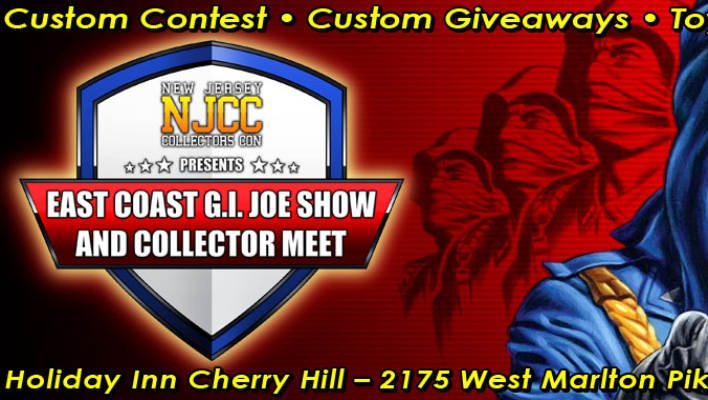 NJCC East Coast G.I. Joe Show and Collector Meet December 2nd 2018