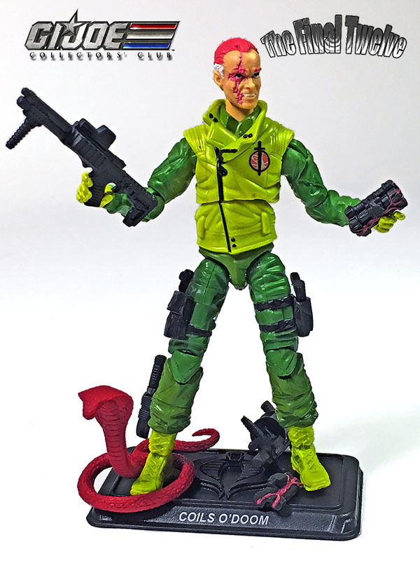 2019 GI JOE CLUB EXCLUSIVE PSYCHE-OUT TIGER FORCE FINAL 12 FSS LOOSE W// FC