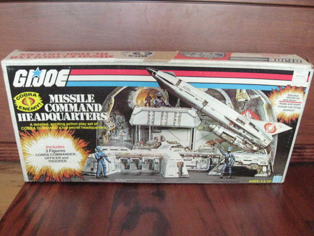 G I  Joe 1982 MISSILE COMMAND HEADQUARTERS - HissTank com