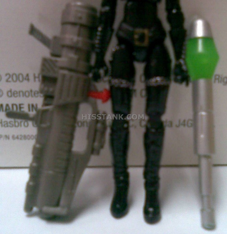 GI Joe Accessory  2009 Baroness V13               Launcher with Missile