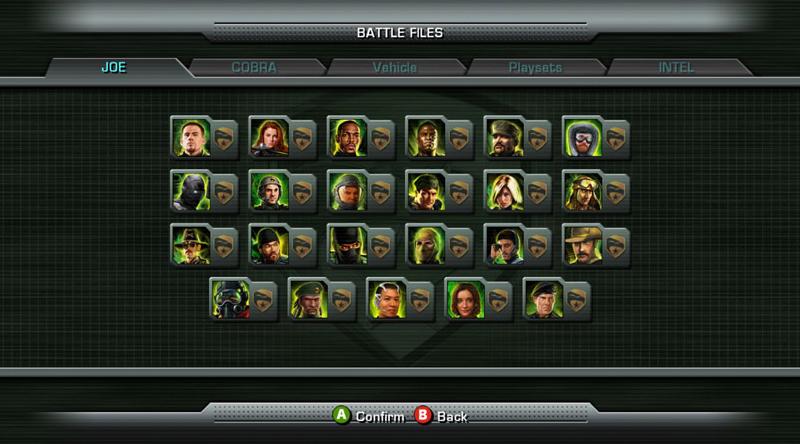 G.I. Joe Rise Of Cobra Video Game Extras Preview - HissTank.com
