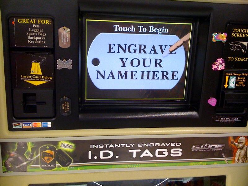 G I  Joe Rise Of Cobra Custom ID Tag Maker - HissTank com