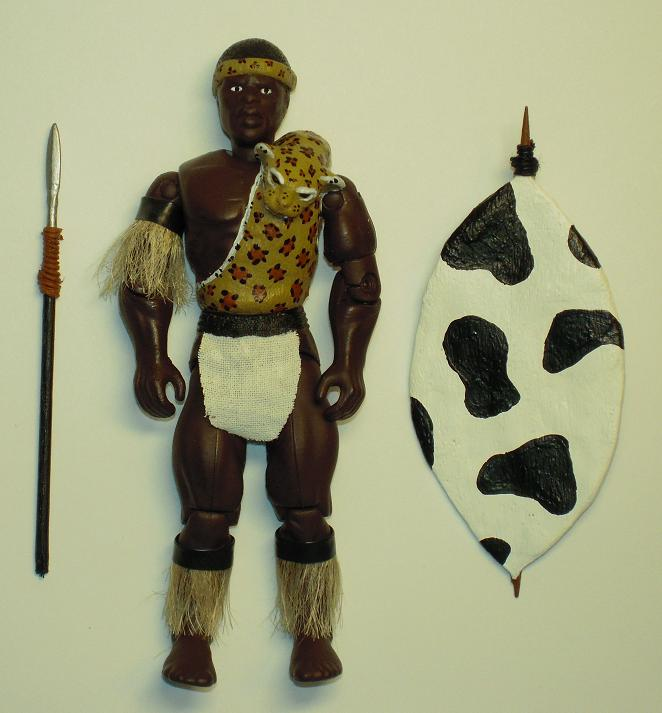 Custom G.I. Joe ARAH Shaka Zulu