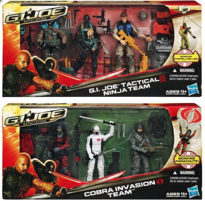 GI Joe arah Storm Shadow Cobra Ninja Custom Mini Action Figure wCase /& Stand 358