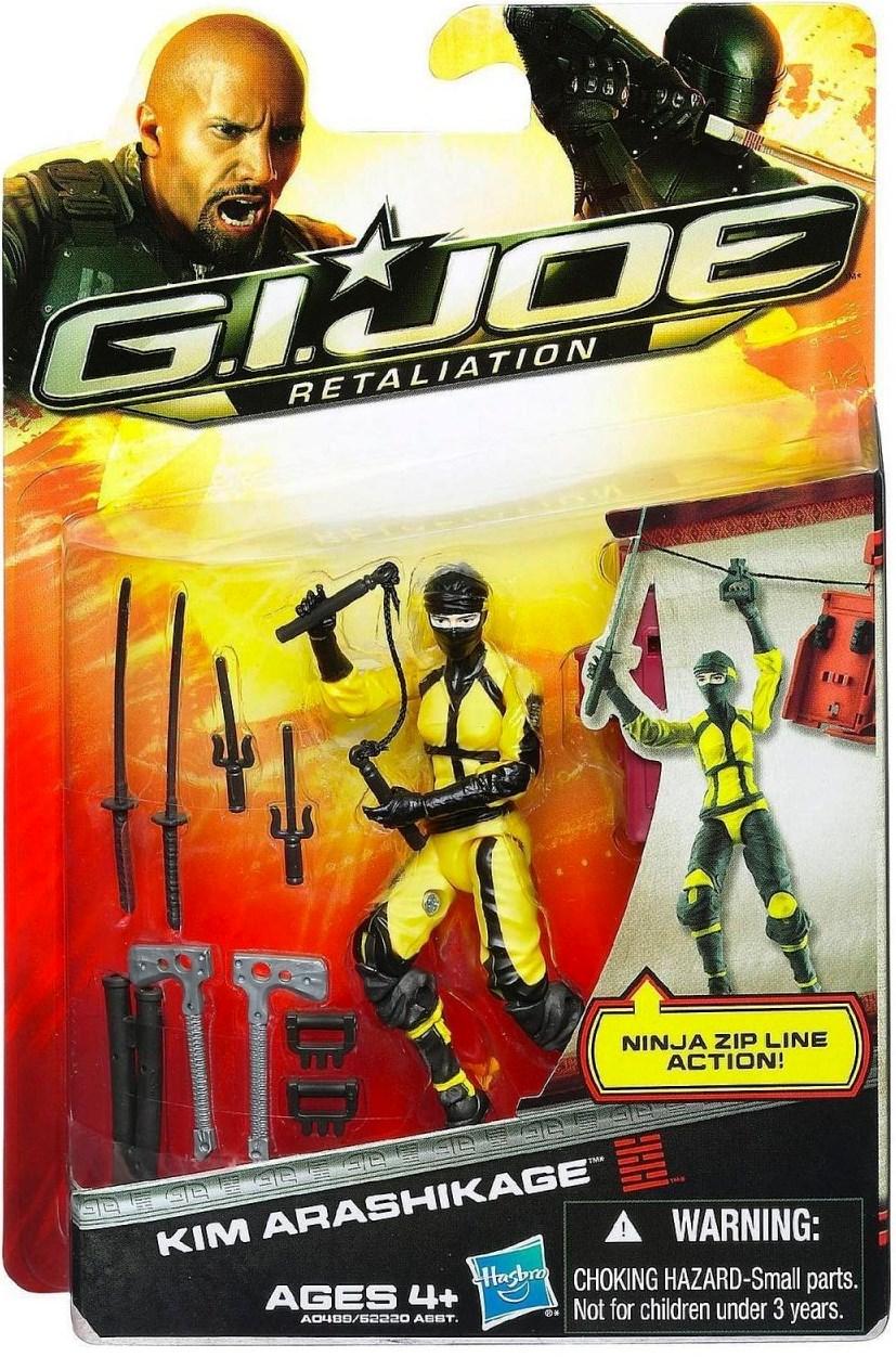 G.I.Joe Retaliation Kim Jinx Arashikage Review - HissTank.com