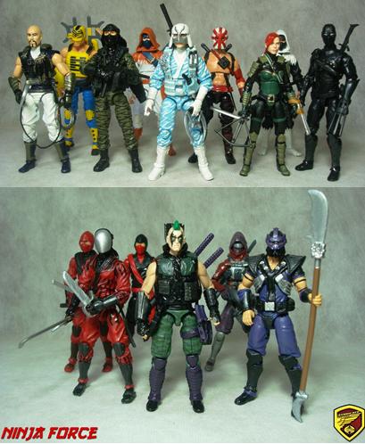 Custom Modern Era G I Joe Vs Cobra Ninja Force By Letal - HissTank com