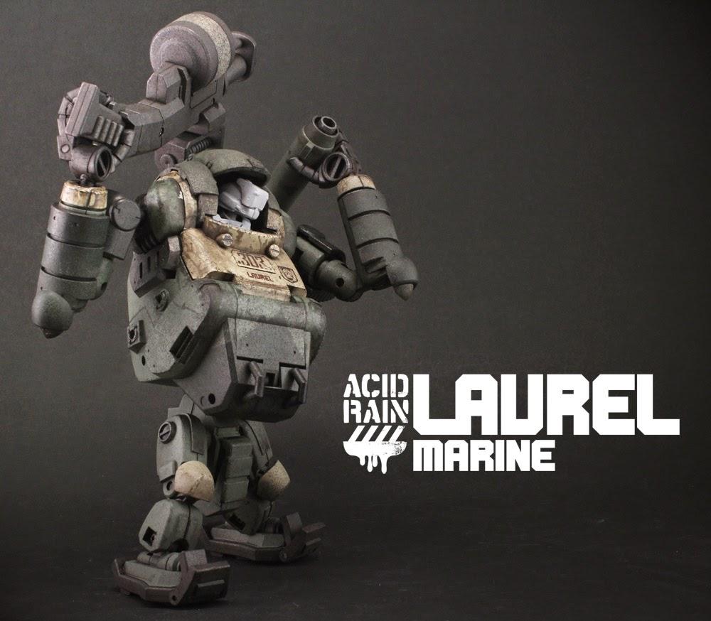 Gatling Gun for Laurel Acid Rain World