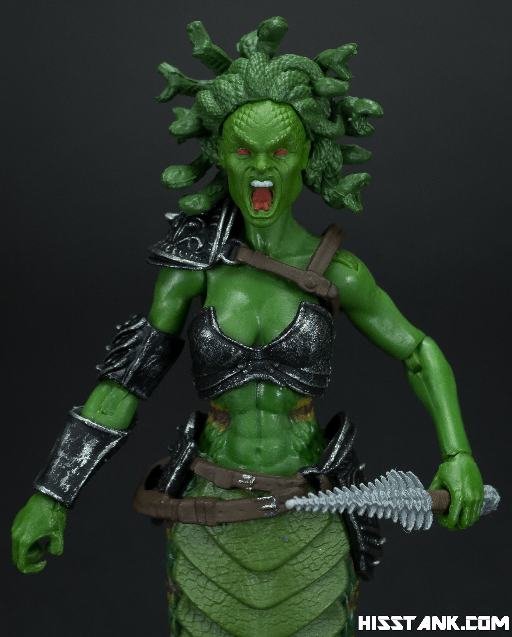 Boss Fight Studio Cursed Medusa Photo Shoot - HissTank com