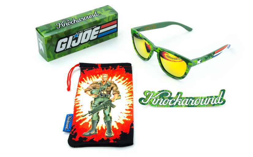 2f7545fe8e G.I.Joe Premiums Brand Sunglasses From Knockaround - HissTank.com
