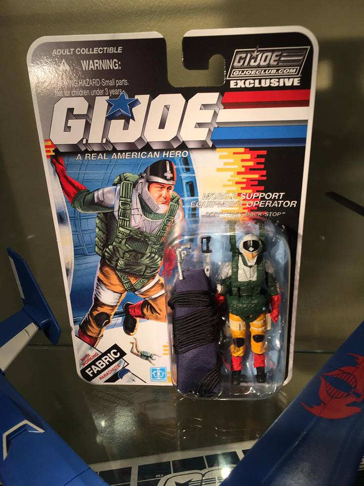 2017 GI Joe Collectors Club Exclusive Reservist Big Lob Carded Ver In Stock