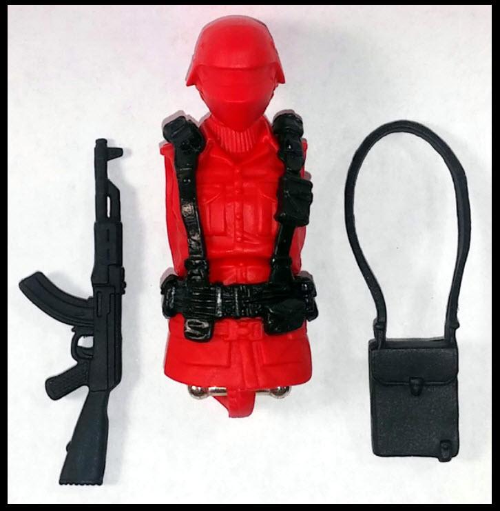 NEW G.I.JOE CUSTOM RED SHADOW NIGHT TROOPER