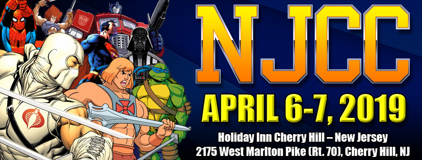 New Jersey Collectors Con Spring Show Update April 6th and 7th This Weekend!