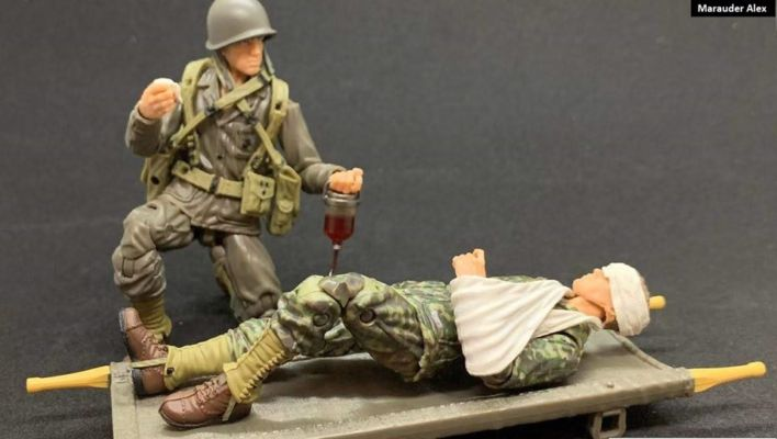 Marauder Task Force WWII 1:18 Scale 4 Inch Action Figures Available at NJCC