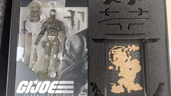 First Look At G.I. Joe: Classified Series 6-Inch Snake Eyes