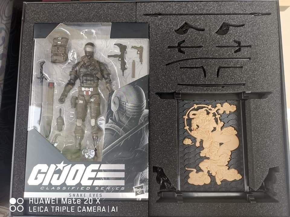 """GI Joe Classified 6/"""" Cobra Commander New Sealed Box Awesome IN HAND Yo Joe!"""