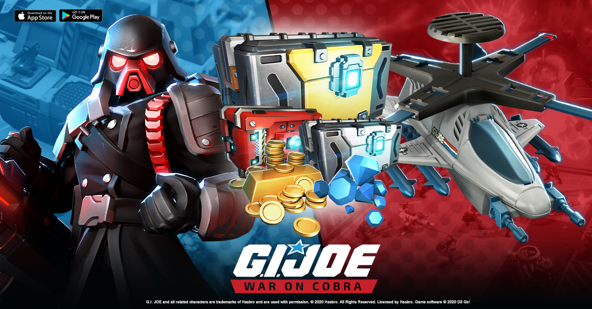 Special Ops Event and Battle Tiers Arriving in G.I. Joe: War on Cobra