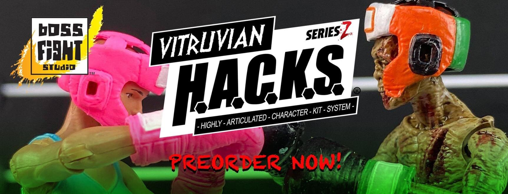 Vitruvian H.A.C.K.S. Series Z by Boss Fight Studio Available to Pre-Order