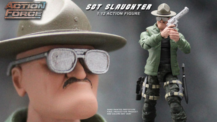 Action Force To Produce Sgt Slaughter Action Figure