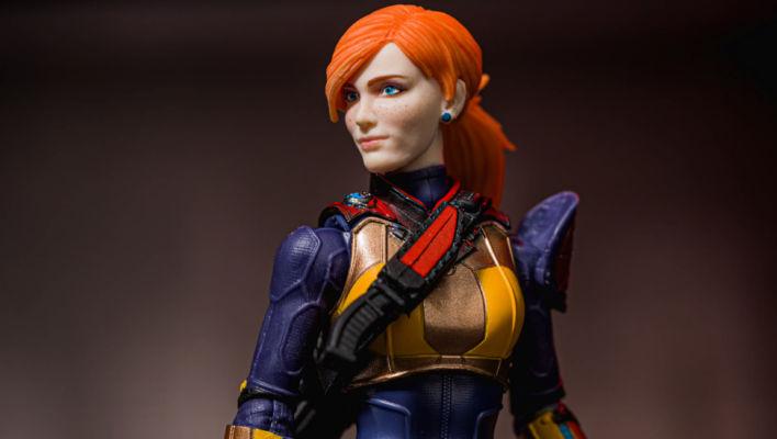 G.I. Joe Classified Scarlett In-Hand Gallery