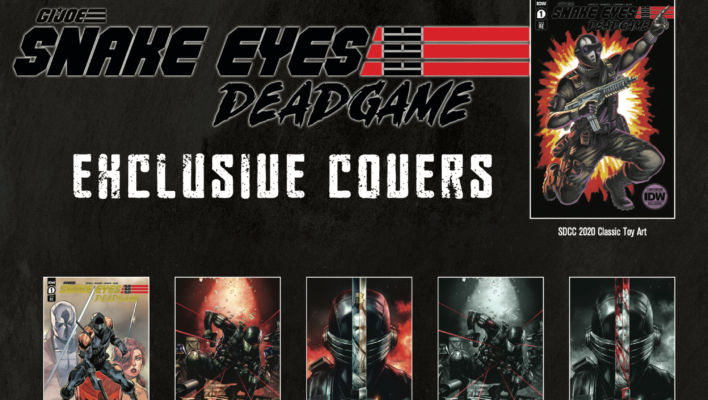 SNAKE EYES: DEADGAME Comic Book Series Launches with 36 Exclusive Covers
