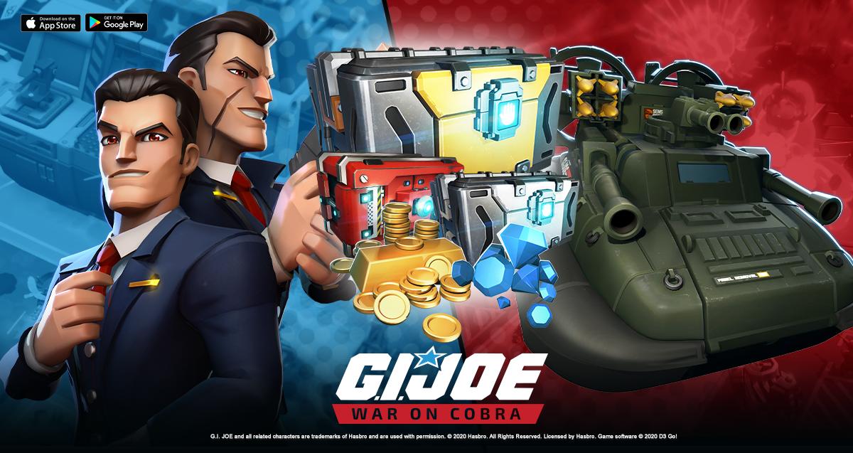 G.I. JOE: WAR ON COBRA MEET THE ALL NEW Tomax and Xamot
