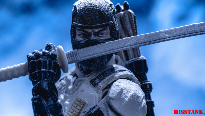 G.I. Joe Classified Arctic Mission Storm Shadow In-Hand Gallery