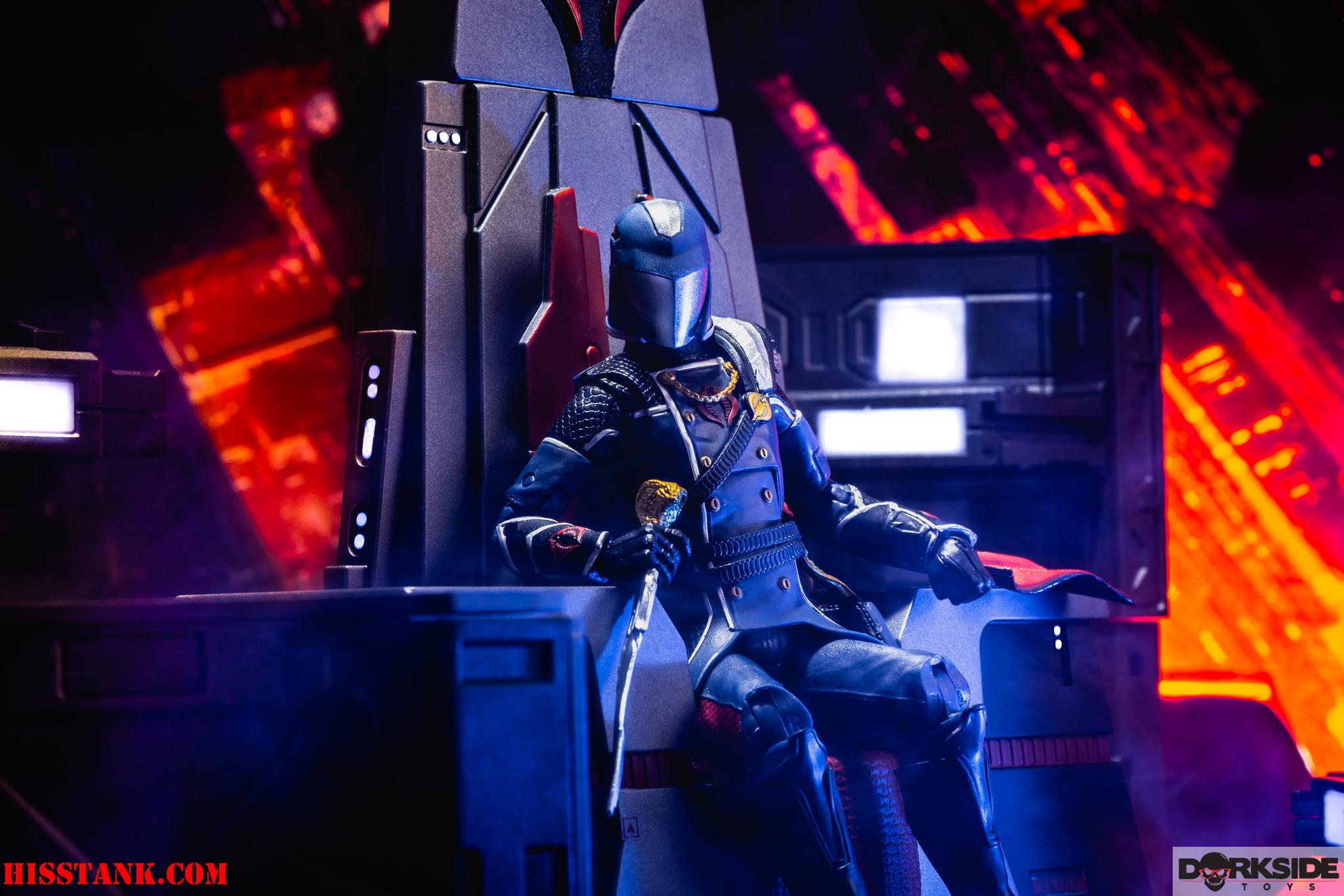 G.I. Joe Classified Cobra Commander In-Hand Gallery
