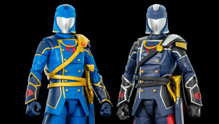 G.I. Joe Classified Regal Cobra Commander In-Hand Gallery
