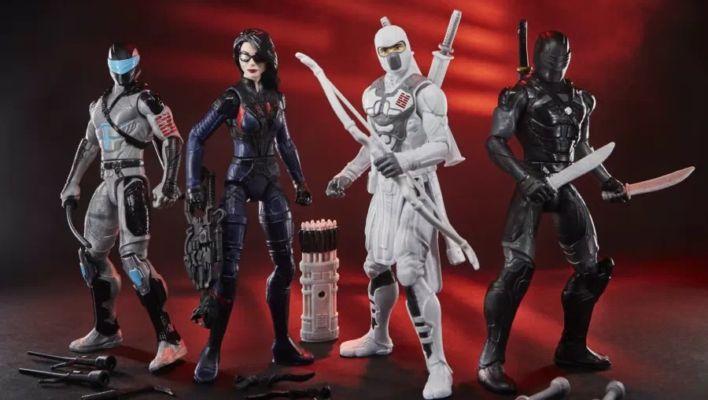 Snake Eyes: G.I. Joe Origins Movie Toys Revealed
