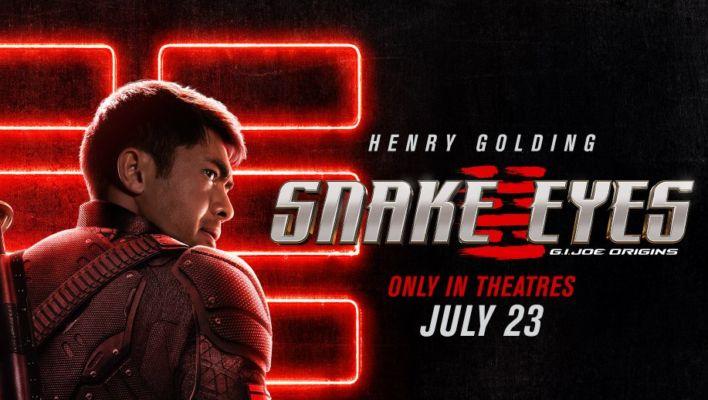 Snake Eyes: G.I. Joe Origins Poster And Trailer Date Revealed