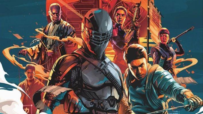Snake Eyes: G.I. Joe Origins Complexland Poster Revealed: Full Trailer Coming Soon #SnakeEyes