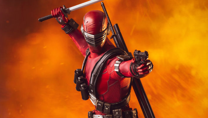 G.I. Joe Snake Eyes (Deadgame) 1/6 Scale BBTS Exclusive Collectible Figure