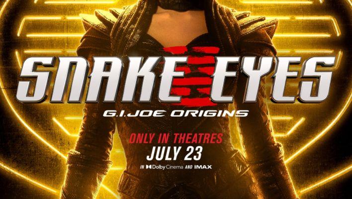Snake Eyes Movie GIJOE Origins Full Trailer Update With SDCC 2021 Info