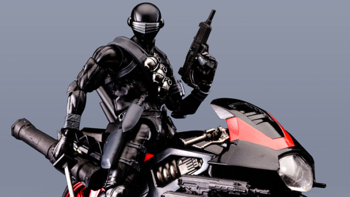 Flame Toys Snake Eyes Model Kit Now Up For Preorder