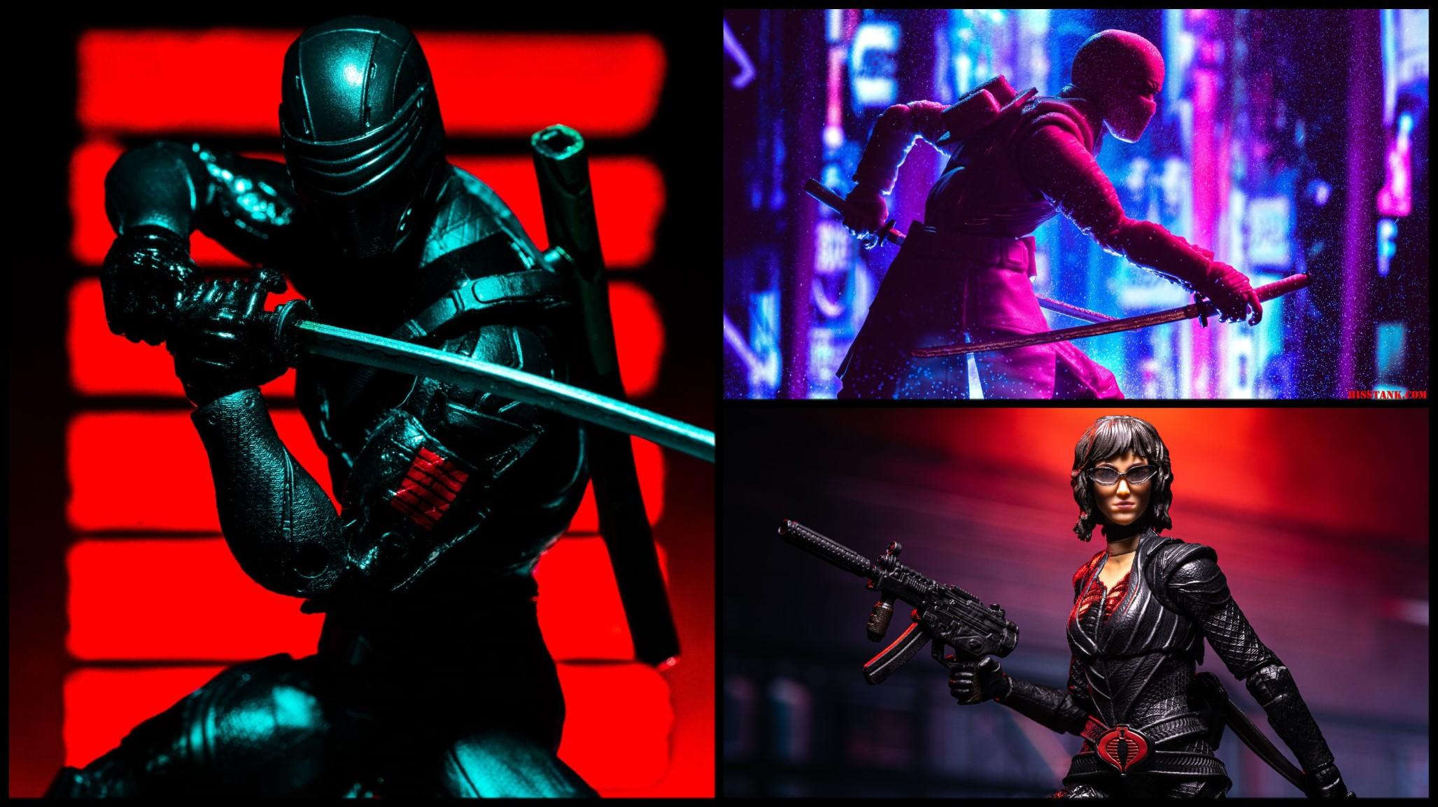 G.I. Joe Classified Snake Eyes Movie Wave 1 Gallery