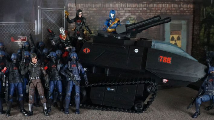 G.I. Joe Classified HasLab Fans' Choice Poll Results The Cobra H.I.S.S. Tank Wins