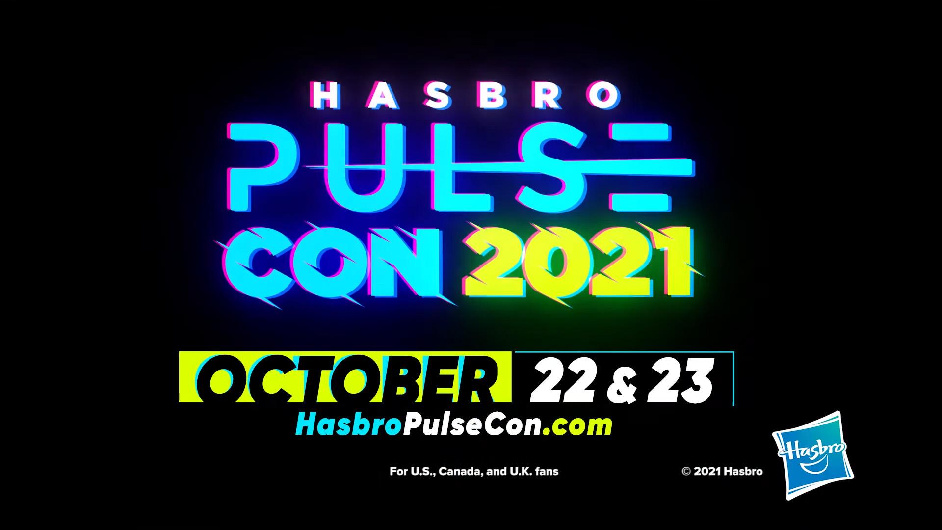 Hasbro Pulsecon 2021 Dates Announced - HissTank.com