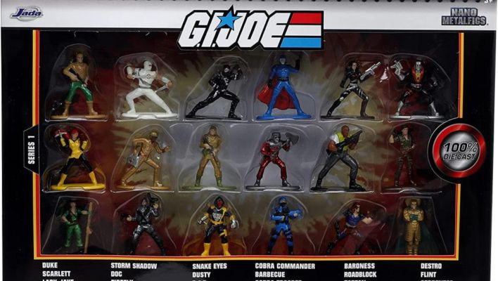 New Jada Toys Die Cast G.I. Joe Vehicles and Nano MetalFigs BBTS Preorders